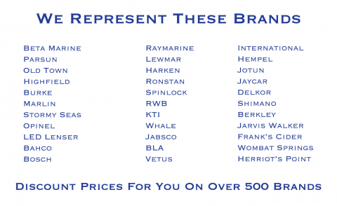 Franklin Marine Supplies and Recommends These Brands
