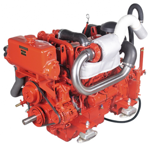 Beta 105 horse power marine turbo diesel engine