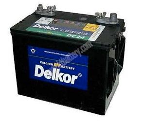 Delkor Marine deep cycle battery