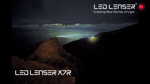 The NEW LED Lenser X7R Rechargeable Torch at Franklin Marine
