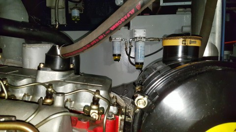 Shy Alba Engine Room