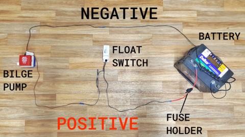 Bilge Pump Float Switch Wiring Diagram from franklinmarine.com.au