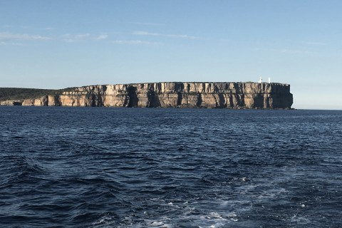 Passing Point Perpendicular –Entering Jervis Bay
