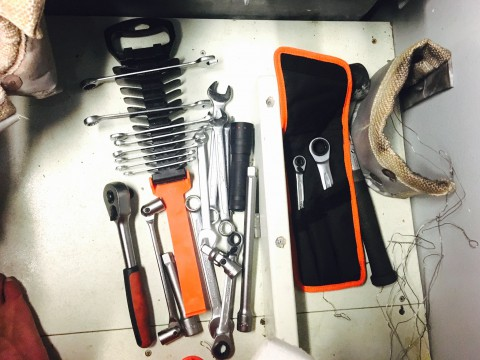 Trusty Bahco tools make the job easy!