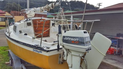 Enya - Trailer Sailor for Sale in the Huon Valley, Tasmania