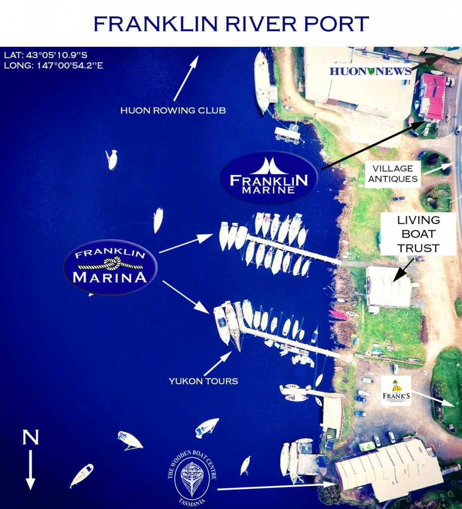 Franklin River Port Map